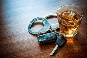 Handcuffs, keys and Whiskey - Underage DWI